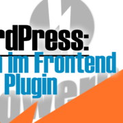 WordPress: Login im Frontend ohne Plugin