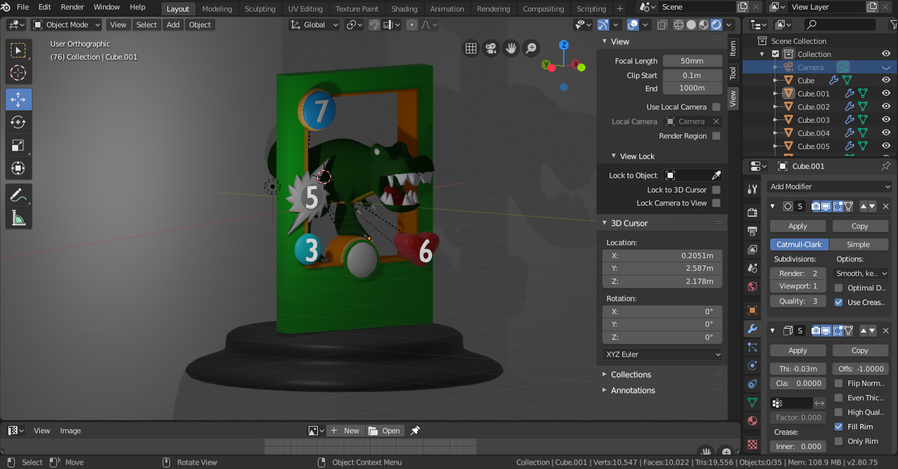 Awesome! See my most failed 3D model ever! Crap like this you will never see again! Promised! [ENG/DEU]