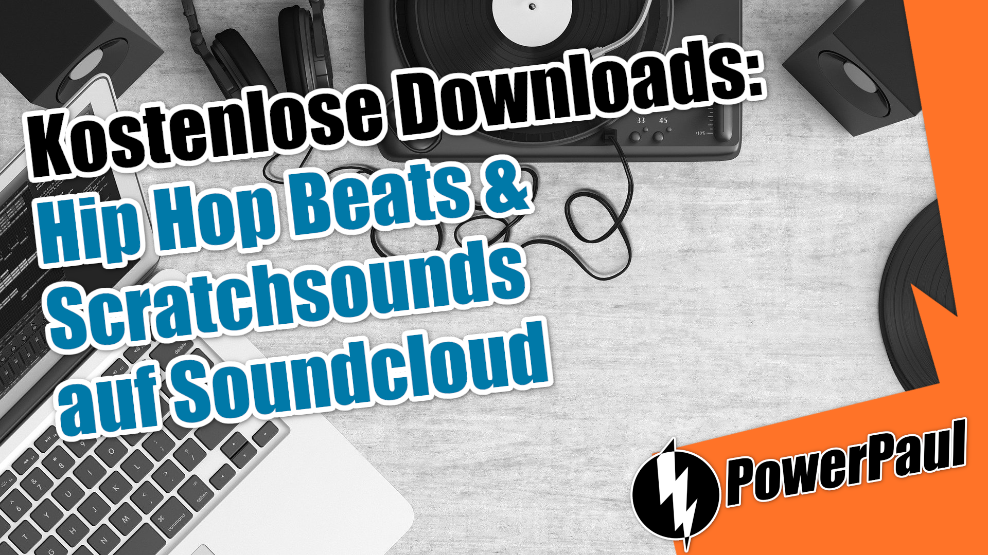 Kostenlose Downloads: Hip Hop Beats & Scratchsounds bei Soundcloud